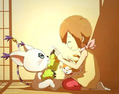 <3 Gatomon would so be my digimon! Hola if you liked digimon better then Pokemon! Lol