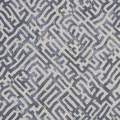 ZAK + FOX fabric available through Cabana Home Home Santa Barbara. Shown: Basilica, available in three colors.