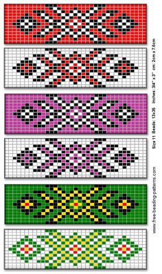Native American Beadwork Patterns and Designs - ImageFiltr