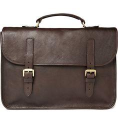 Mulberry Elkington Leather Briefcase | MR PORTER $750