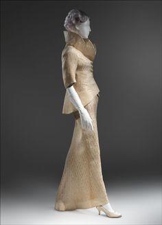 Charles James dinner suit ~ (1956)