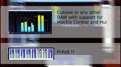 ArduinoPrX : PrXoS Mackie HUI VU Meter