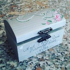 And they rode happily ever after Wedding rings box Infinity sign Wedding Lucian & Dyda