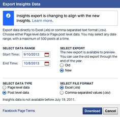 How to Analyze Your Facebook Metrics to Improve Your Marketing: Fans reached; Engaged fans; Consumptions; Link clicks; Feedback;