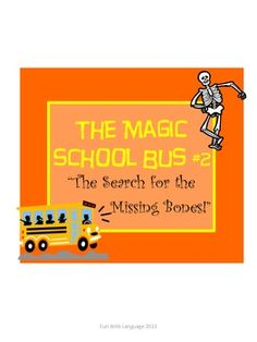 Perfect for Halloween! Kids learn about the human skeleton while reading a fun Halloween themed Magic School Bus story!