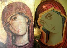 Iconar Eleni Dadi – icoana Byzantine Icons, Byzantine Art, Greek Icons, John Chrysostom, Art Icon, Orthodox Icons, Jaba, Religious Art, Virgin Mary