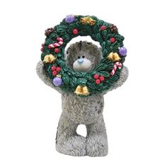 The Holly Days Are Coming Me to You Bear Figurine (Sept Pre-Order)   £18.50