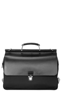 Tumi Park Lane Briefcase. If I lived in NYC and did finance, this would 100% be my bag. $695