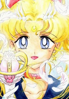 harharhar, i read the sailor moon manga at least >___< i´m so happy i got the series complete and it´s so different.i like the end of the anime more XDDD (and hate my english X. Sailor Moon Fan Art, Sailor Moon Usagi, Sailor Uranus, Sailor Moon Crystal, Sailor Mars, Princesa Serenity, Moon Drawing, Sailor Mercury, Sailor Scouts