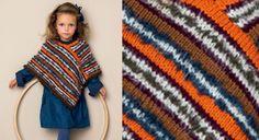 Le poncho enfant rayures Pérou http://www.prima.fr/mode-beaute/le-poncho-enfant-rayures-perou-modele-gratuit-tricot/7955241/