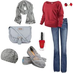 my first adventure with polyvore. :)
