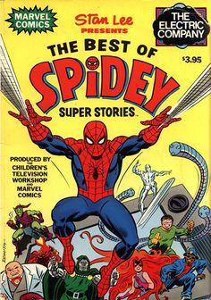 Best of Spidey Super Stories (1978) #spidey #spiderman #marvel #comics