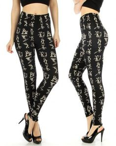 Stick Men at Work Leggings [one size fits most]