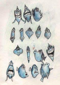 Finding Nemo: 60+ Original Concept Art Collection