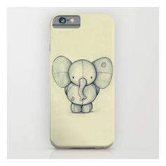 Cute Elephant iPhone 6s Case ($35) ❤ liked on Polyvore featuring accessories, tech accessories and iphone & ipod cases