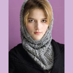 silver streak cowl by cathy carron - free pattern but log in required.