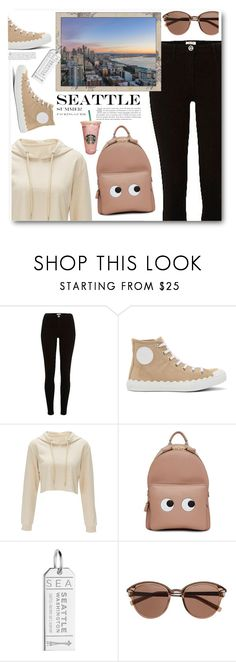"""Seattle"" by ucetmal-1 ❤ liked on Polyvore featuring River Island, Chloé, Anya Hindmarch, Jet Set Candy, Witchery, seattle and outfitsfortravel"