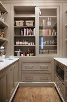 Like The Glass Doors, No Dust Kitchen Pantry. Bell Kitchen And Bath Studios. Part 93