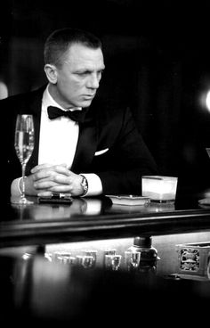 Tremendous black tie from #JamesBond. Excited for #SPECTRE!