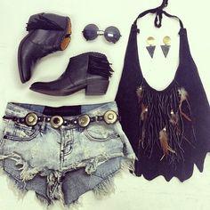 ☮ American Hippie Bohemian Style ~ Boho . . Summer Music Festival . . Be Daring
