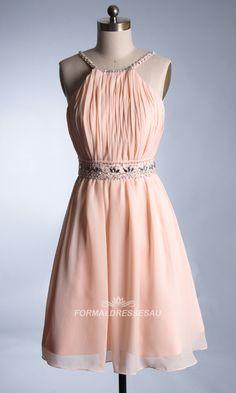 #formaldressesu# Light Blue Chiffon Backless Short Formal Dresses FDA0018 @Amey Martindale Martindale Martindale Corson