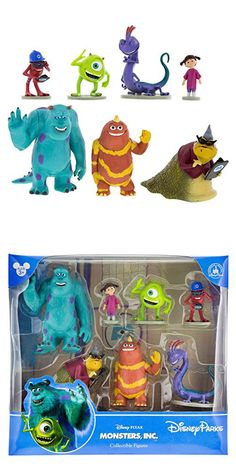 New Toy Story 3 Villains Disney Figurines Playset Includes