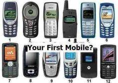 ¿Alguno de estos fue su primer teléfono?