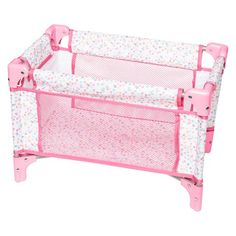 Perfectly Cute Baby Doll Folding Crib & Playpen : Target