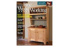 Check out the current issue of Fine Woodworking Magazine! Read Issue 242 (October 2014) and learn to build a country hutch, four essential router jigs, and more! Click now to learn more about the issue.
