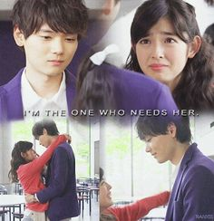 Kotoko and Naoki Irie in Mischevious Kiss (Itazura na Kiss ~ Love in Tokyo Itazura Na Kiss, Playful Kiss, Japanese Drama, Japanese Boy, Yuki Furukawa, J Pop Bands, Korean Drama Quotes, Drama Tv Shows, Drama Fever