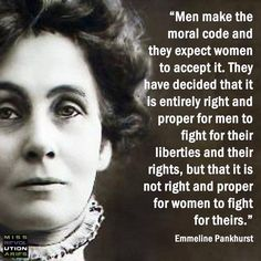 "Emmeline Pankhurst (born Goulden; 15 July 1858 – 14 June 1928) was a British political activist and leader of the British suffragette movement who helped women win the right to vote. In 1999 Time named Pankhurst as one of the 100 Most Important People of the 20th Century, stating: ""she shaped an idea of women for our time; she shook society into a new pattern from which there could be no going back."""