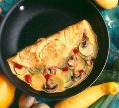 Farmers' market omelet