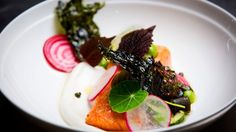 Fish 3 Ways and Hot Smoked Trout with Dashi Yoghurt