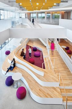 Office Interior Design that you must see for the best performance - Architecture Public Library Design, Office Space Design, Workspace Design, Office Interior Design, Office Spaces, Office Designs, Design Offices, Modern Offices, Office Ideas