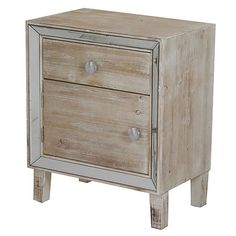 The Bon Marche 1 Drawer Nightstand is a uniquly designed cabinet for use as nightstands, end tables or in kid's rooms. Design with saving space in mind so they are great in small spaces. Made from hardwoods and man-made wood product. This nightstand handmade and hand finished.