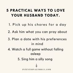 There are so many ways to surprise and serve your husband without breaking the bank. You just have to be creative! Here are 15 inexpensive ways to bless your guy today. Communication In Marriage, Intimacy In Marriage, Marriage Relationship, Happy Marriage, Marriage Advice, Praying For Your Husband, Love You Husband, Best Husband, Advice For Newlyweds
