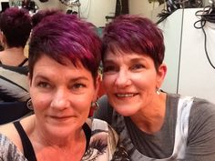 Twins, doing the purple twin thing...