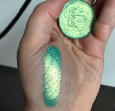 Coming soon is this new shade from Pic Mint Makeup, Green Makeup, Mint Eyeshadow, Eyeshadow Looks, W Cosmetics, My Beauty Routine, Indie Makeup, Makeup Swatches, Fall Makeup