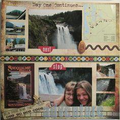Snoqualmie Falls - WASHINGTON - Scrapbook.com