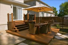 Patio Plus - Multi level Decks Patio Gazebo, Deck With Pergola, Backyard Patio, Pergola Ideas, Patio Ideas, Pergola Plans, Pergola Kits, Wisteria Pergola, Steel Pergola