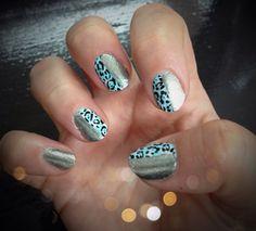 Beauty Tutorial: Leopard print metallic animal nail art
