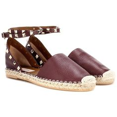 Shop Valentino Garavani Rockstud espadrille sandals presented at one of the  world's leading online stores for luxury fashion.