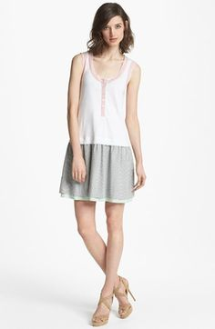 MARC BY MARC JACOBS 'Jasper' Stripe Linen Tank Dress available at #Nordstrom