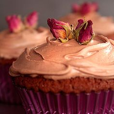 Cocoa-Buttermilk Birthday Cupcakes with Chocolate Malt Buttercream (TWD)