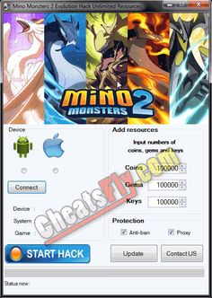 Mino Monsters 2 Evolution Cheats Hack Gems Coins