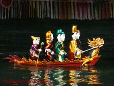 Marionnettes sur l'eau hanoi