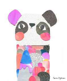 Image of Limited Edition Print // ALEXANDER PANDA by Laura Blythman