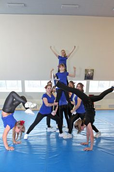 Черлидинг - это один из молодых вид спорта в России. Несколько лет назад он появился в Домодедово.  Занятия проходят в физкультурно-оздоровительном комплексе фокус.