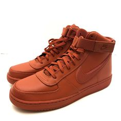 online retailer 271a6 b32d6 Details about Nike Vandal High Supreme Leather Dragon Red Mens Size 10.5  AH8518-601 New. Nike Air ForceMen s ...