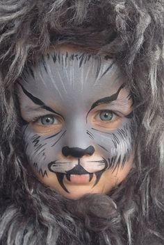 wolf face paint - Google zoeken